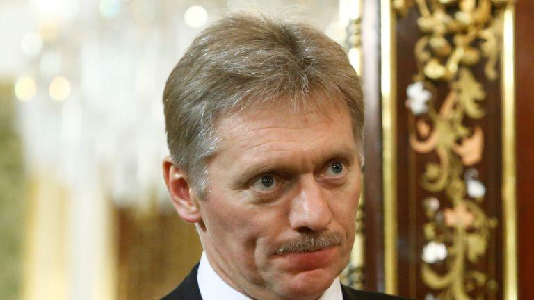 Kremlin spokesman Dmitry Peskov has said US sanctions are 'illegal'