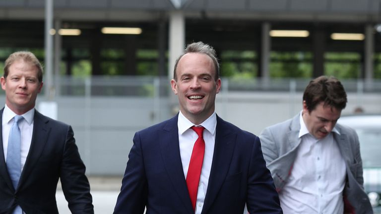 Dominic Raab has not ruled out suspending parliament to get a no-deal Brexut through