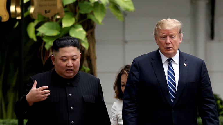 President Trump to meet Kim Jong Un for 'handshake'