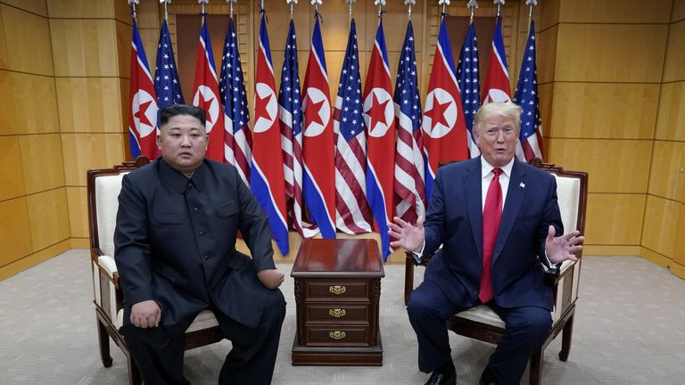 Was impromptu meeting a win for Trump and Kim? Well, that depends
