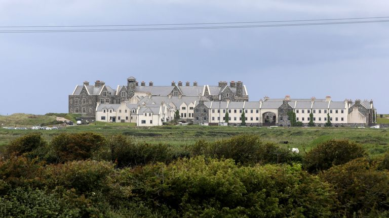 Mr Trump will be staying at his hotel and golf course in Doonbeg for the next few days