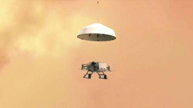 NASA plans life-hunting drone for Saturn moon