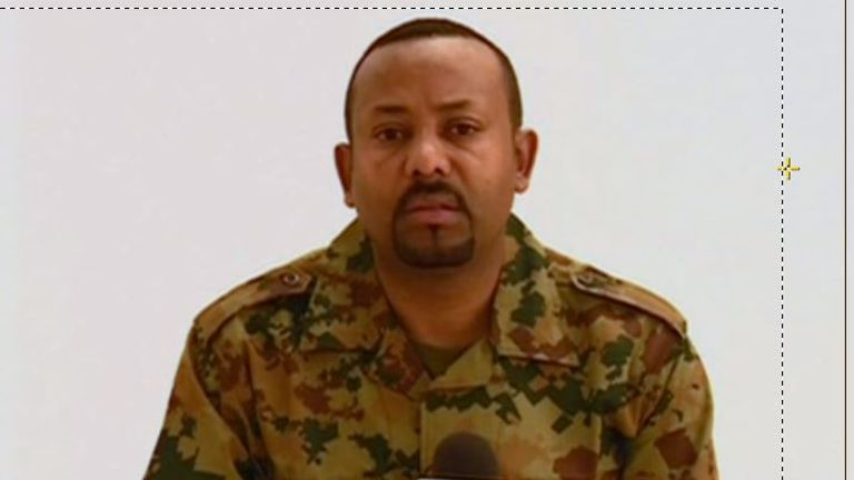 new prime minister, Abiy Ahmed,