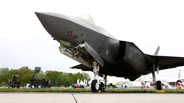 Chinese-owned firm makes parts for UK-US fighters