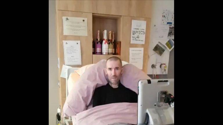 Fernando Ricksen revealed he was suffering from motor neurone disease in 2013