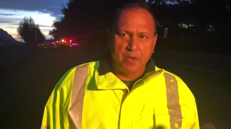 Fire chief Manuel Neves described the crash as 'tragic'