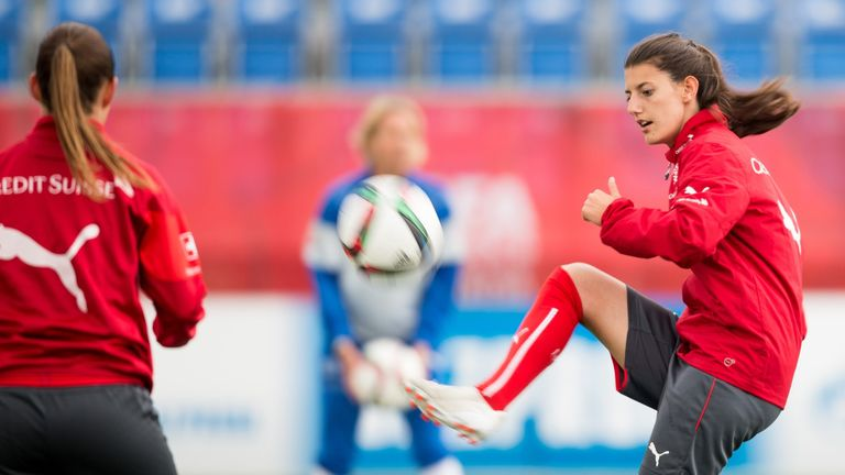 Florijana Ismaili plays for Young Boys Bern and for Switzerland's national team