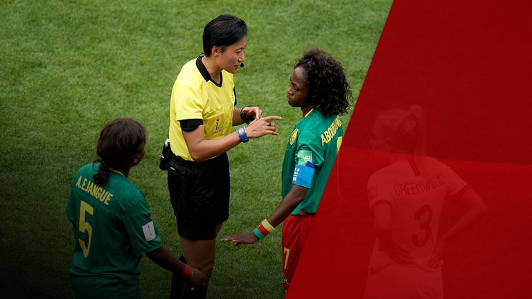 There is concern about Cameroon's behaviour and how it portrays the woman's game