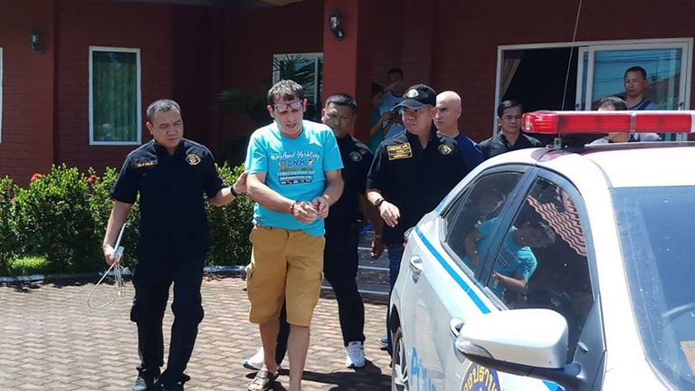 Francesco Galdelli was arrested in Thailand on Saturday
