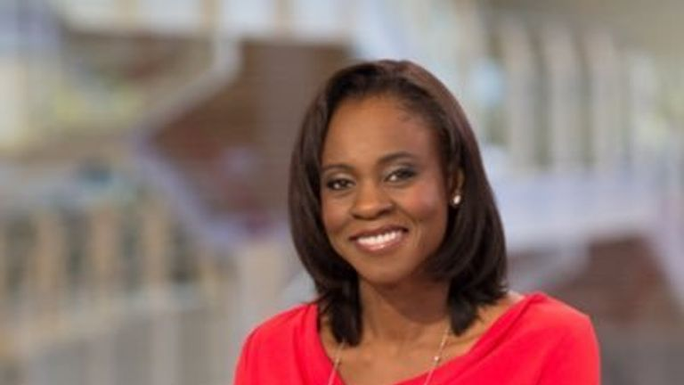 Sky News presenter Gillian Joseph