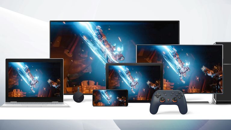 Stadia will work with a single controller across any screen