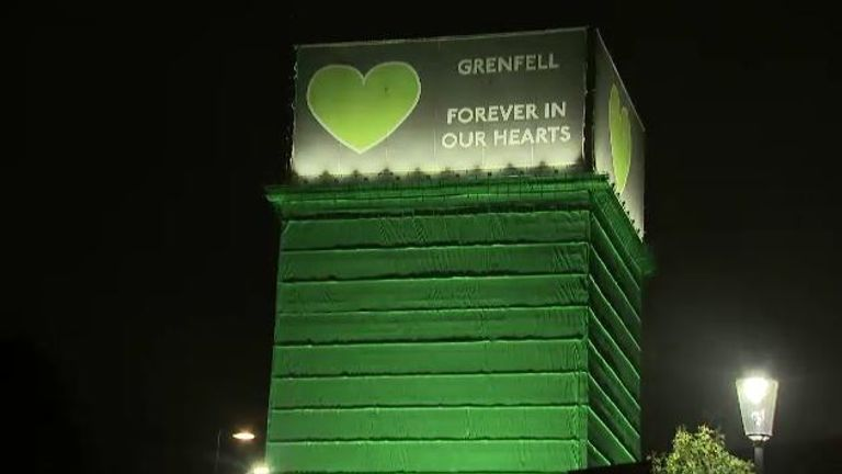 The second anniversary of the Grenfell Tower fire