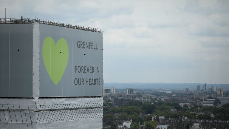 Two of the companies being sued provided parts of the cladding for Grenfell Tower