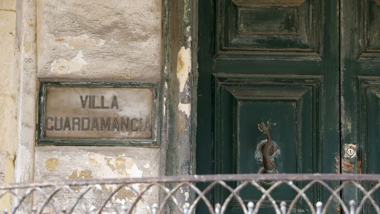 Villa Guardamangia is seen in Pieta, outside Valletta, Malta April 25, 2015