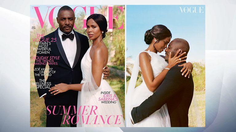 British Vogue July issue. Photo: Sean Thomas