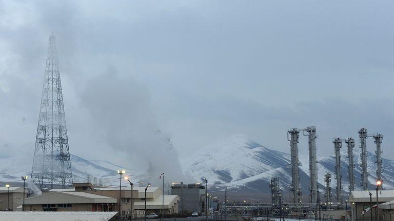 Iran's Arak nuclear facility