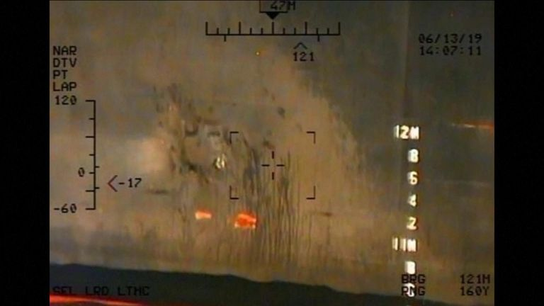Iran Gulf of Oman attacks