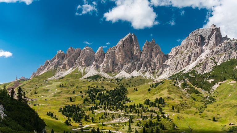 Italian Dolomites. File pic