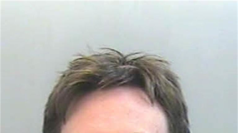 Jack Shepherd following his arrest for assault. Pic: Devon and Cornwall police