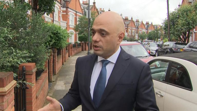 Tory leadership hopeful and Home Secretary Sajid Javid said that if the choice was between no deal and no Brexit, he would choose no deal.