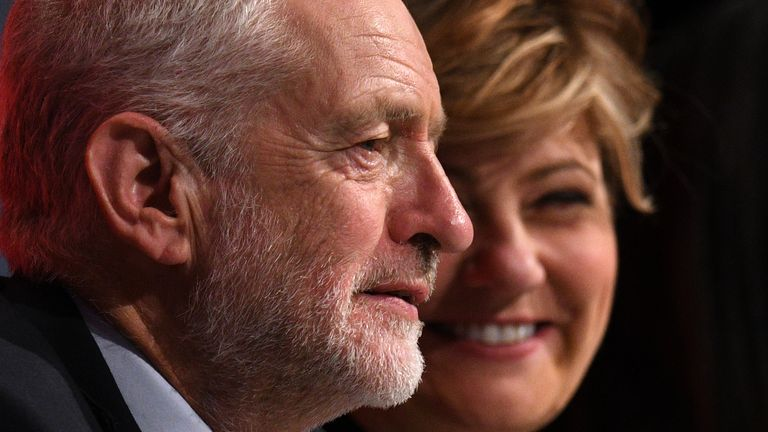 Emily Thornberry is at odds with Jeremy Corbyn on Labour's Brexit policy