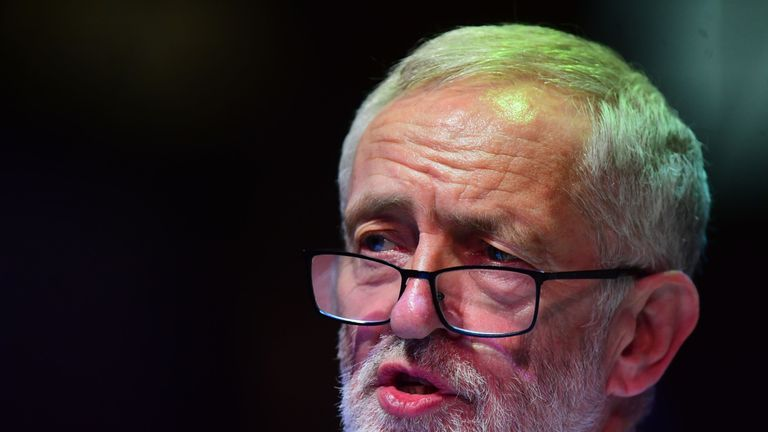 Jeremy Corbyn says the claims are a 'farrago of nonsense'
