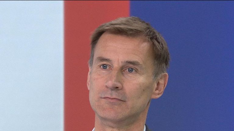 Foreign Secretary and Conservative leadership candidate Jeremy Hunt says he would like to see the legal time limit on abortions reduced from 24 weeks to 12.
