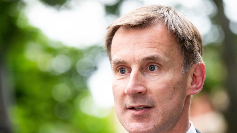 Infected Blood Inquiry: Jeremy Hunt accused of breaking promises to victims