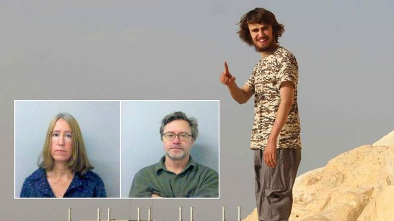 Sally and John Letts (inset) are parents of suspected IS member Jihadi Jack