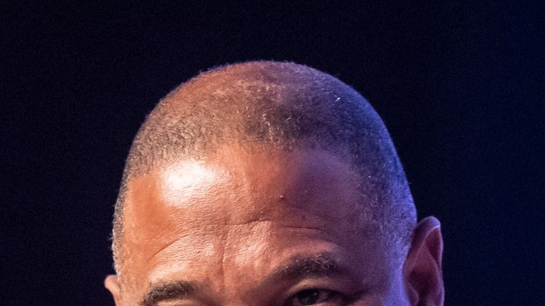 Former England footballer John Barnes said the UK is standing 'on the edge of a cliff'