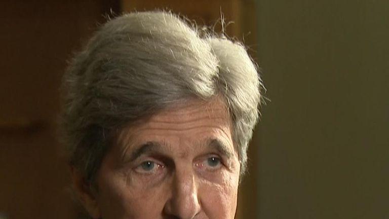 John Kerry will not be running for president