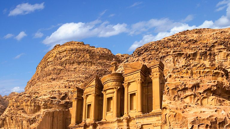 The 12-week trips includes the chance to explore the Middle East, including Jordan