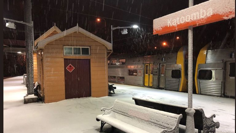 Snow hits New South Wales