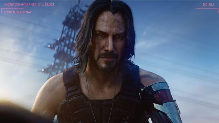 Keanu Reeves stole the show in a Cyberpunk 2077 cameo. Pic: Cyberpunk 2077