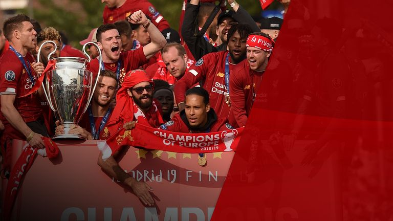 The team won their sixth champions league title