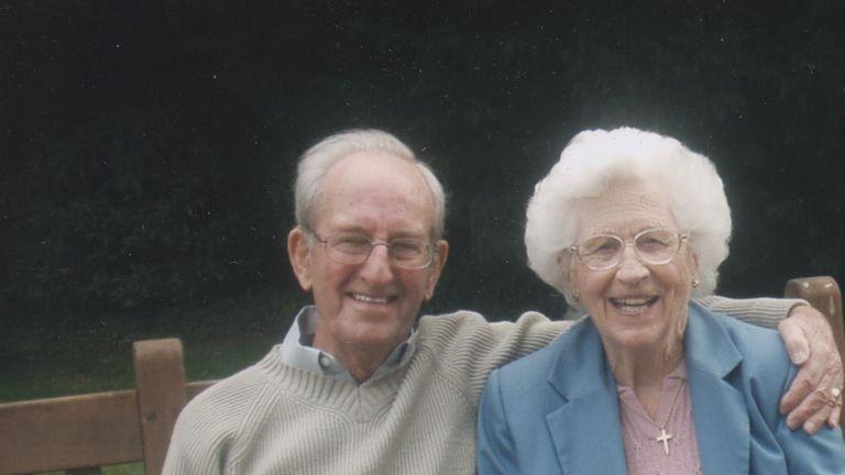 Len Taylor and Iris Taylor