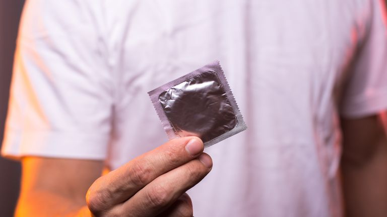 It is claimed the recorded failure rate of condoms is 17%. File pic