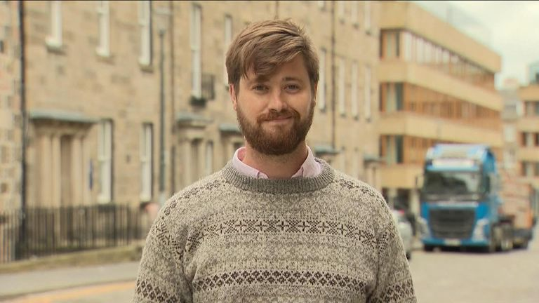 James Owers, a PHD student, is among the first in the world to trial the gel