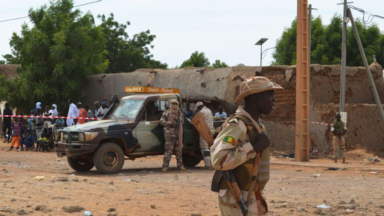 Unrest has been boiling over between ethnic militias. File pic