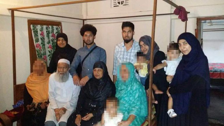 Twelve members of the Mannan family fled Luton for Syria in May 2015