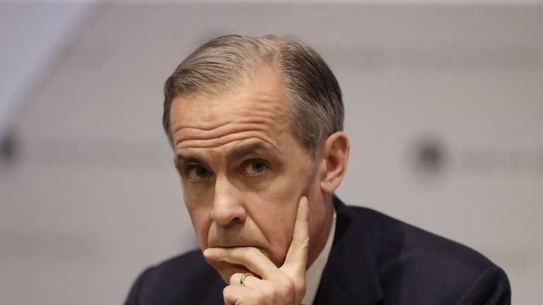 Mark Carney offered four new initiatives, despite just months left in his role