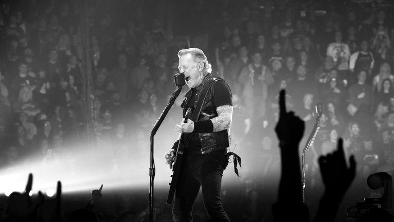 Metallica are playing at Twickenham stadium on Thursday