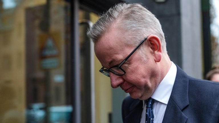 Michael Gove confessed to taking cocaine as a young journalist