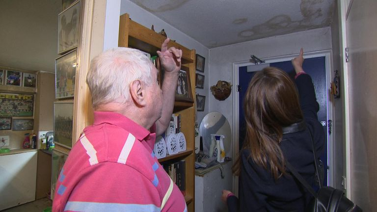 Michael Mohid, 70, has lived in the same council flat in South East London for more than 30 years