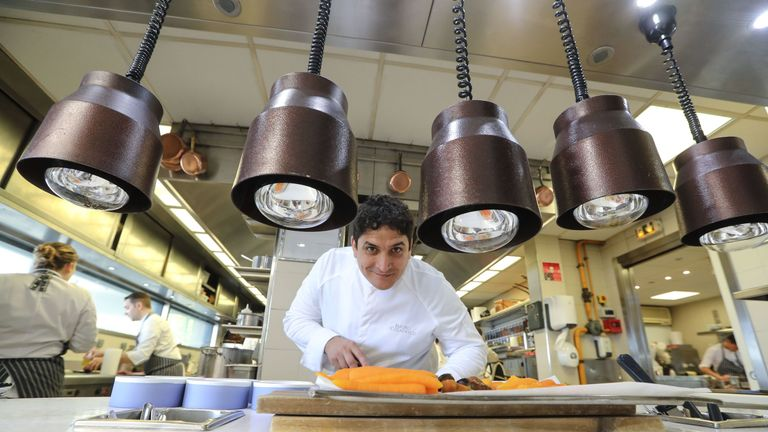 Mirazur's chef Mauro Colagreco said the win showed anything was possible