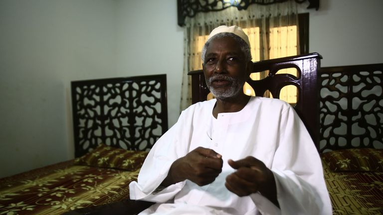 Mudawi Ibrahim is widely tipped as a future prime minister