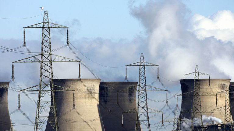 Ferrybridge power station near Leeds was the first 2000MW power station in Europe