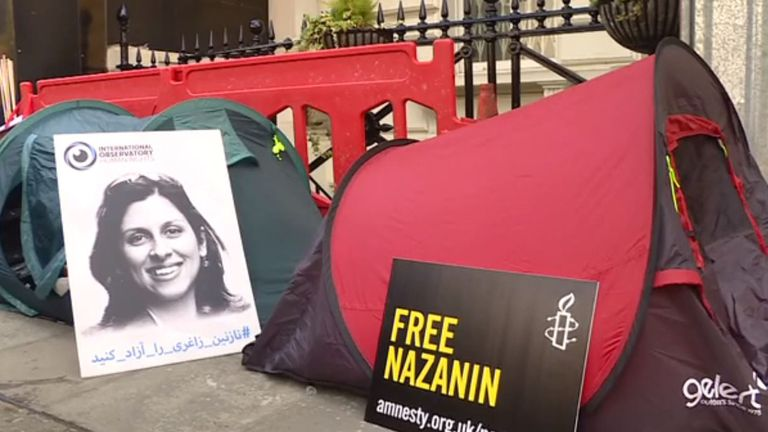 Nazanin Zaghari-Ratcliffe  has been in jail since 2016