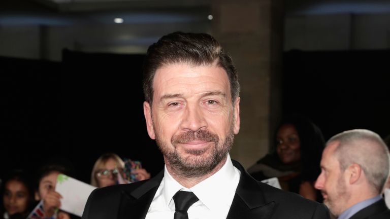 Nick Knowles attends the Pride Of Britain Awards at Grosvenor House, on October 30, 2017 in London, England.