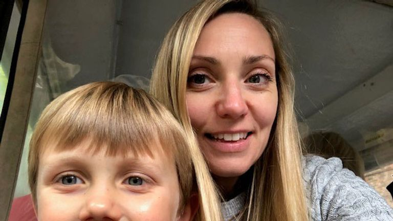 Hayley says Noah struggles with anxiety and sensory issues